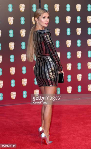 Victoria Bonya attends the EE British Academy Film Awards held at the Royal Albert Hall on February 18 2018 in London England