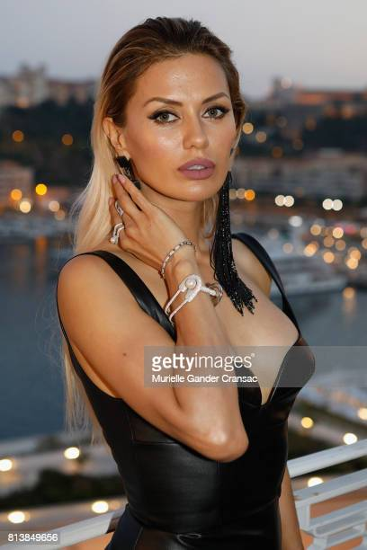 Victoria Bonya attends the Friends Of Sheba Medical Center 'DRINKDANCEDONATE' event at Hotel Hermitage on July 12 2017 in Monaco Monaco