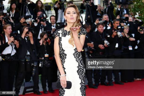 Victoria Bonya attends the 'How To Train Your Dragon 2' premiere during the 67th Annual Cannes Film Festival on May 16 2014 in Cannes France