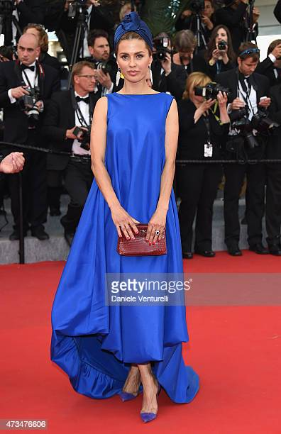 Victoria Bonya attends the Irrational Man Premiere during the 68th annual Cannes Film Festival on May 15 2015 in Cannes France