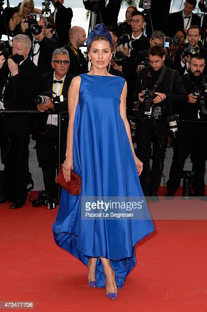 Victoria Bonya attends the Premiere of 'Irrational Man' during the 68th annual Cannes Film Festival on May 15 2015 in Cannes France
