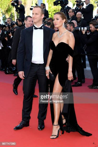 Victoria Bonya attends the screening of Girls Of The Sun during the 71st annual Cannes Film Festival at Palais des Festivals on May 12 2018 in Cannes...