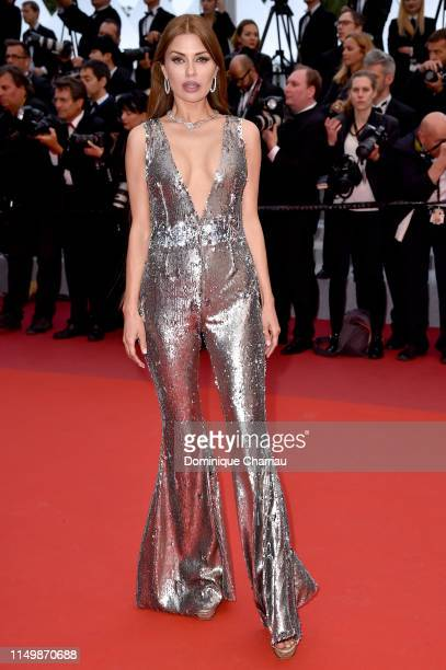 Victoria Bonya attends the screening of Pain And Glory during the 72nd annual Cannes Film Festival on May 17 2019 in Cannes France