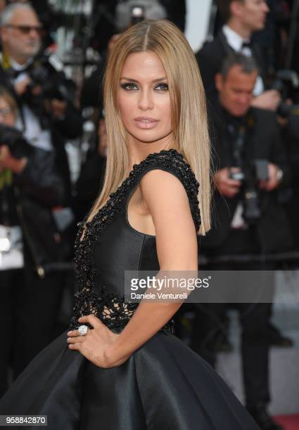 Victoria Bonya attends the screening of Solo A Star Wars Story during the 71st annual Cannes Film Festival at Palais des Festivals on May 15 2018 in...