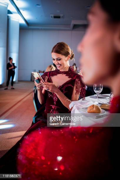 Victoria Bonya attends the Inaugural 'World Bloggers Awards' during the 72nd annual Cannes Film Festival on May 24 2019 in Cannes France The 'World...