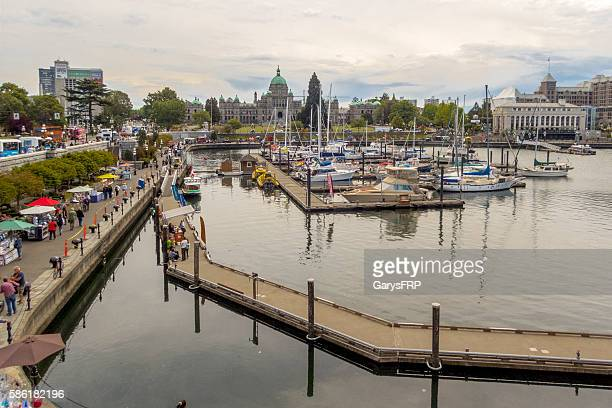 Victoria British Columbia Canada Inner Harbour British Columbia Parliament Buildings