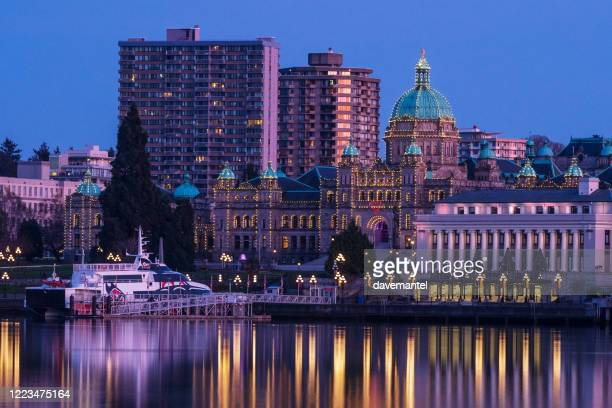 victoria british columbia - victoria canada stock pictures, royalty-free photos & images