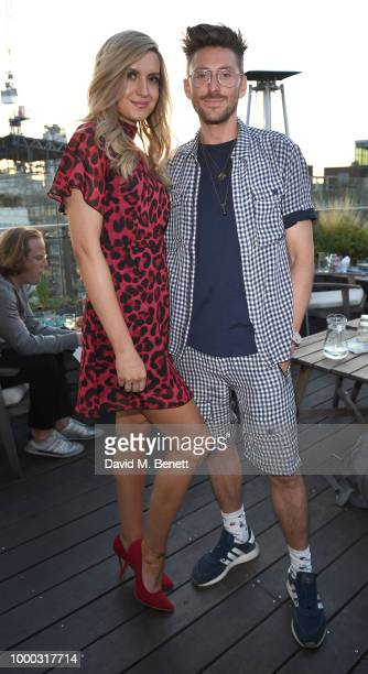 Victoria Brown and Henry Holland attends the launch of the collaboration between House of Holland Papier on July 16 2018 in London England The...