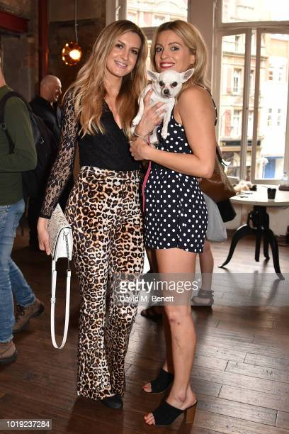 Victoria Brown and Olivia Cox attend the Gala Screening of Alpha at Picturehouse Central on August 19 2018 in London England