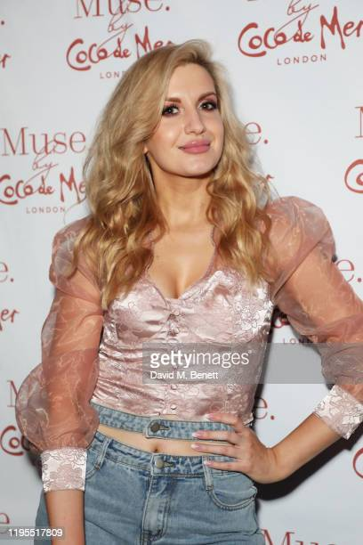 Victoria Brown attends the launch of Muse by Coco De Mer at Sketch on January 23 2020 in London England