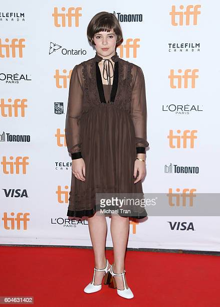 Victoria Bruno arrives at the 2016 Toronto International Film Festival 'Wakefield' premiere held at Princess of Wales Theatre on September 13 2016 in...