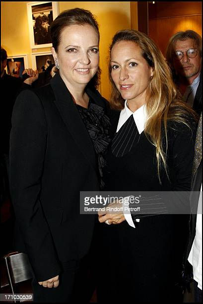 Victoria Brynner and Princess Zahra Aga Khan at Exhibition Opening Of Yul Brynner's A Photographic Journey At Galerie Du Passage In Paris