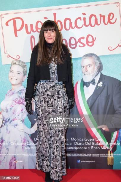 Victoria Cabello attends a photocall for 'Puoi Baciare Lo Sposo' on February 28 2018 in Milan Italy