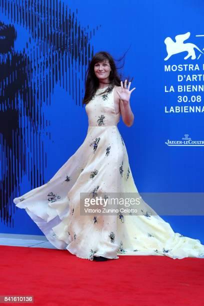 Victoria Cabello attends the Franca Sozzani Award during the 74th Venice Film Festival on September 1, 2017 in Venice, Italy.