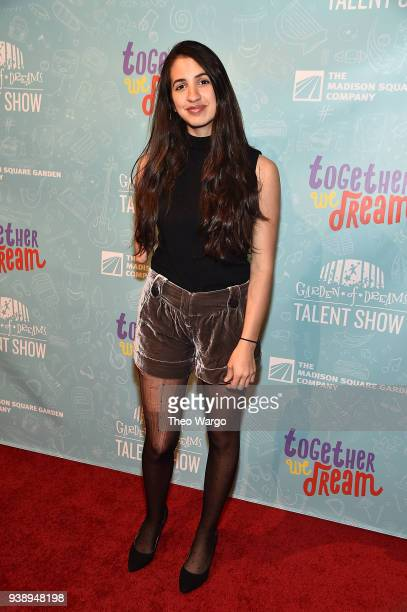 Victoria Canal attends Garden Of Dreams Foundation's 12th Annual Talent Show at Radio City Music Hall on March 27 2018 in New York City