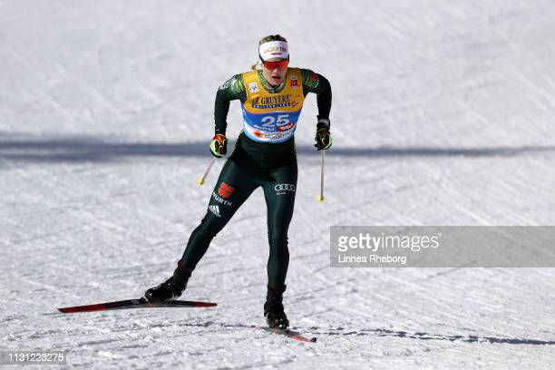 Victoria Carl of Germany competes in the Women's Cross Country Sprint Qualification during the FIS Nordic World Ski Championships on February 21 2019...