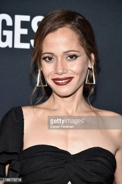 Victoria Cartagena attends 21 Bridges New York Screening at AMC Lincoln Square Theater on November 19 2019 in New York City