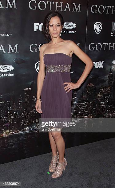 Victoria Cartagena attends the 'Gotham' Series Premiere at The New York Public Library on September 15 2014 in New York City