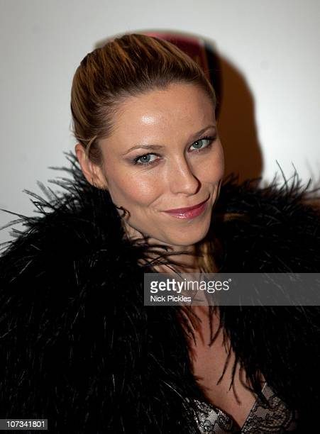 Victoria Chaplin arrives for the ABC for SOS ball at Claridge's Hotel on December 5 2010 in London England