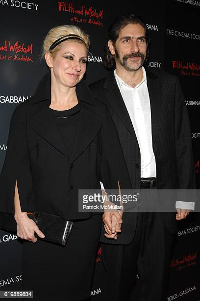 Victoria Chlebowski and Michael Imperioli attend THE CINEMA SOCIETY and DOLCE GABBANA host a screening of FILTH WISDOM at Landmark Sunshine Theater...