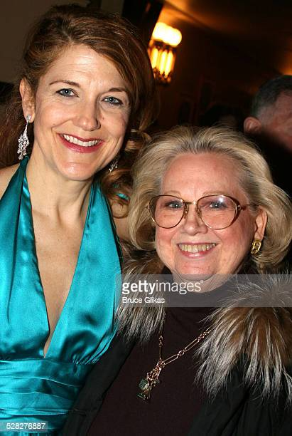 Victoria Clark and Barbara Cook during Encore's presents Stephen Sondheim's Follies Opening Night Gala at City Center in New York City New York...