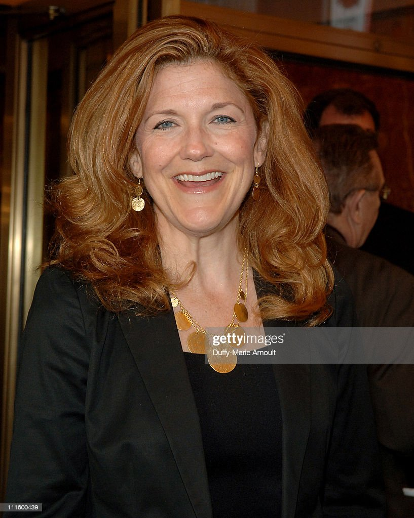 Victoria Clark during National Theatre's Coram Boy Opening - Arrivals and Curtain Call at Imperial Theatre in New York City, New York, United States.