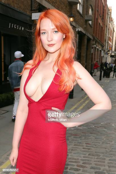 Victoria Clay attending the opening of the Bluebierd Cafe Covent Garden store on May 17 2018 in London England