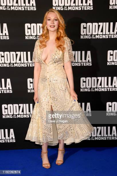 Victoria Clay attends GODZILLA II King of the Monsters at Cineworld Leicester Square on May 28 2019 in London England