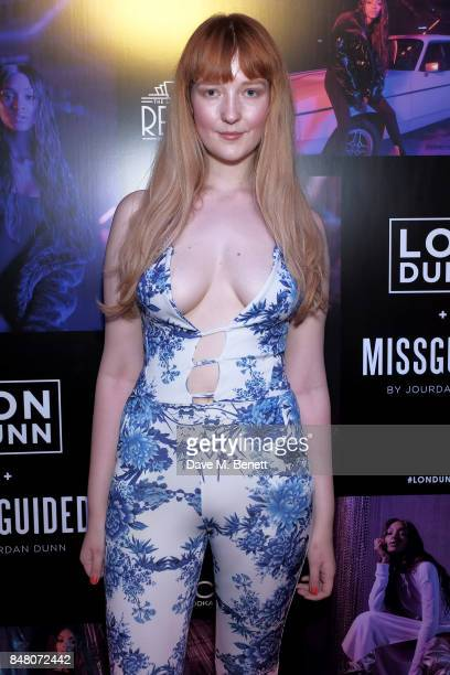 Victoria Clay attends LON DUNN x Missguided Official Launch Party Hosted by Jourdan Dunn at The London Reign on September 16 2017 in London England