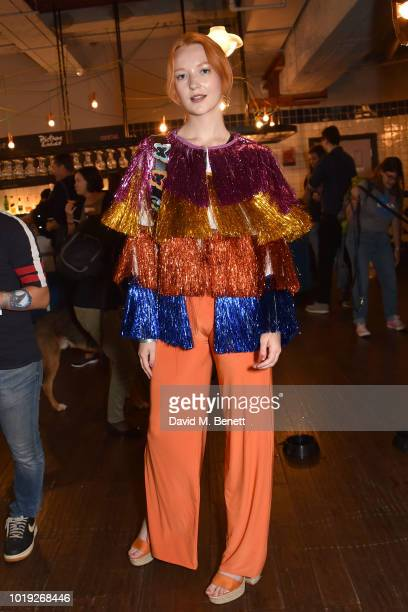 Victoria Clay attends the Gala Screening of Alpha at Picturehouse Central on August 19 2018 in London England