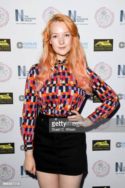 Victoria Clay attends the Paul Strank Charitable Trust Summer party at Sanctum Soho Hotel on July 11 2018 in London England
