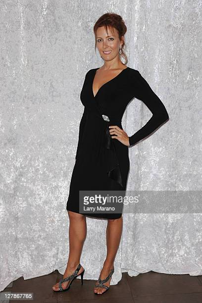 Victoria Clemons attends The Classic Rock and Roll Party a Tribute to Clarence Clemons at Hard Rock Live in the Seminole Hard Rock Hotel Casino on...