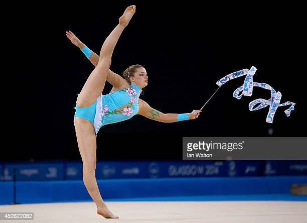 Victoria Clow of Scotland at SECC Precinct during day one of the Glasgow 2014 Commonwealth Games on July 24 2014 in Glasgow United Kingdom