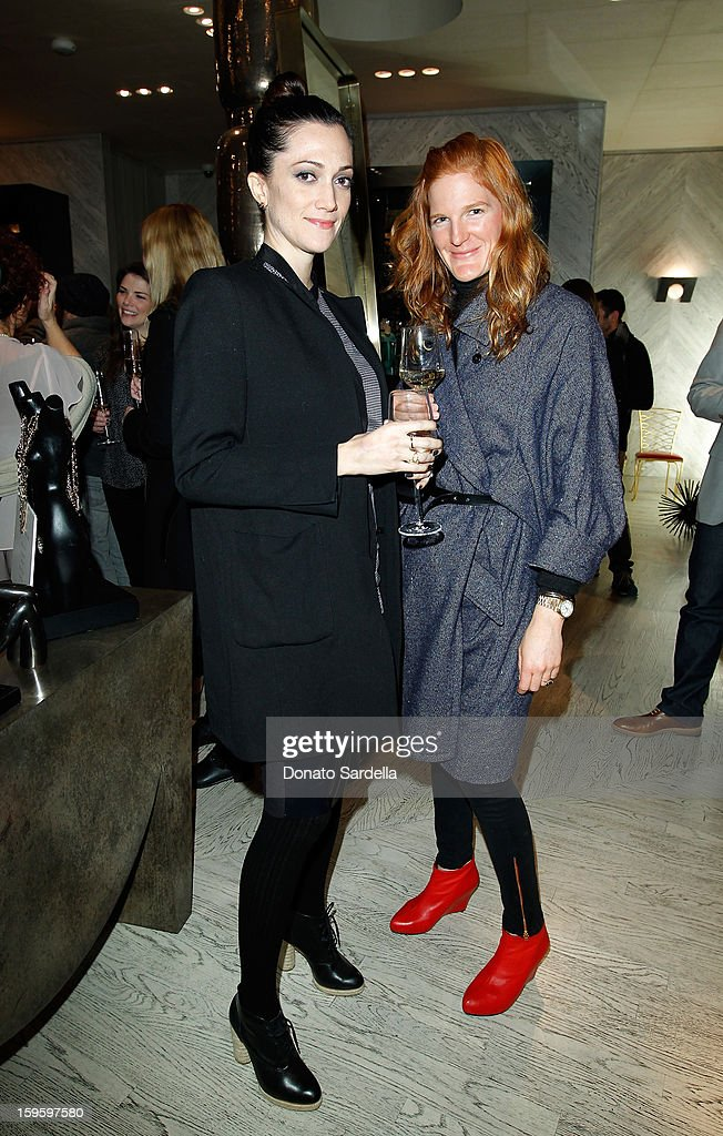 Victoria Collins and Nina Collins attend Kelly Wearstler and LACMA's Avant-Garde celebrating her eponymous new book Kelly Wearstler: 'Rhapsody' at Kelly Wearstler Boutique on January 16, 2013 in West Hollywood, California.