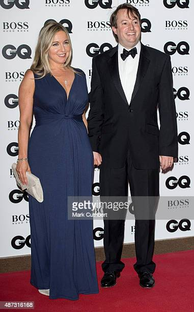 Victoria Coren and David Mitchell attend the GQ Men of the Year Awards at The Royal Opera House on September 8 2015 in London England