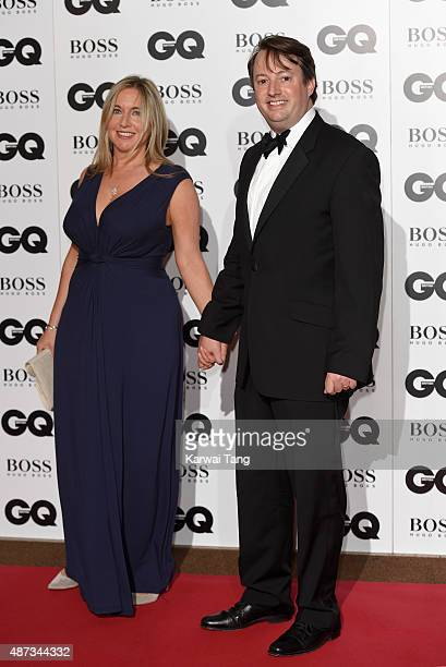 Victoria Coren Mitchell and David Mitchell attend the GQ Men Of The Year Awards at The Royal Opera House on September 8 2015 in London England
