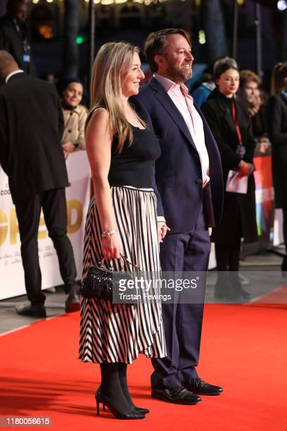 Victoria Coren Mitchell and David Mitchell attend the Greed European Premiere during the 63rd BFI London Film Festival at the Odeon Luxe Leicester...