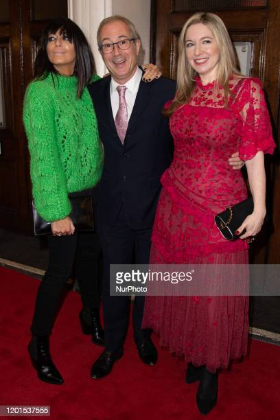 Victoria Coren Mitchell , Ben Elton , and Claudia Winkleman attend Press Night of The Upstart Crow at the GIELGUD THEATRE, SHAFTESBURY AVE 17...