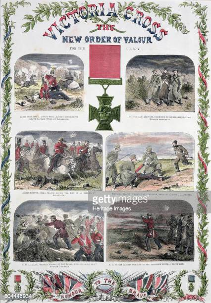 Victoria Cross the New Order of Valour for the Army' c1857 The Victoria Cross was instituted in 1856 for all ranks of the British army and navy It...