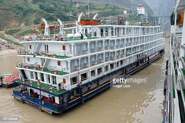 Victoria Cruises, Yangtze River, near Wushan.