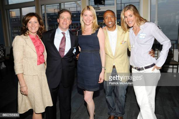 Victoria Cuttita Francis Cuttita Amy McFarland Kevin Liles and Marisa Noel Brown attend NEW YORKERS FOR CHILDREN 'Sports Network to Success' Event...