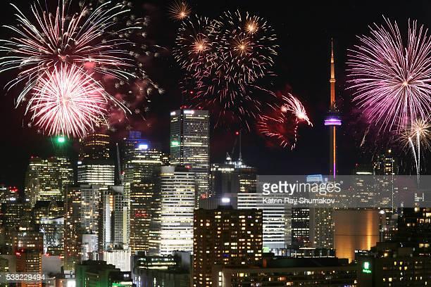 Victoria Day Fireworks in Toronto