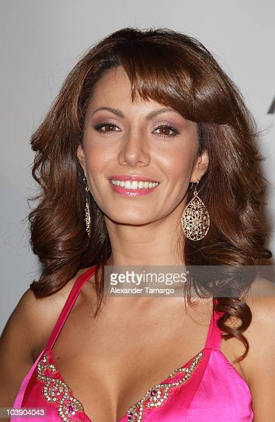Victoria del Rosal attends screening of Telemundo's 'Alguien Te Mira' at The Biltmore Hotel on September 7 2010 in Coral Gables Florida