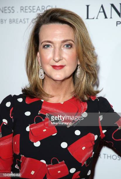 Victoria Derbyshire arrives at 'TEN A Decade of Dreams' at London Palladium on September 30 2018 in London England The Event is in aid of Breast...
