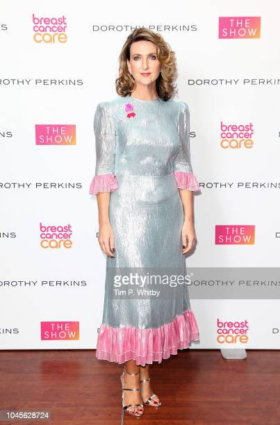 Victoria Derbyshire attends the Breast Cancer Care London Fashion Show in association with Dorothy Perkins at Park Plaza Westminster Bridge Hotel on...