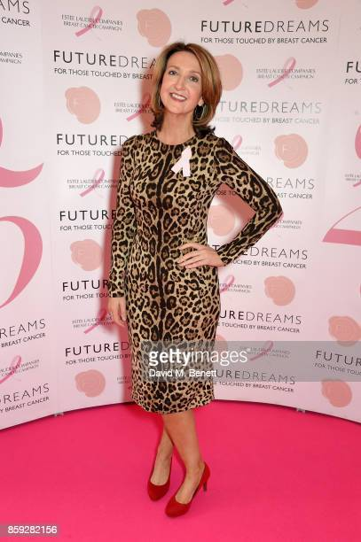 Victoria Derbyshire attends the Future Dreams Make Your Mark ladies lunch at The Savoy Hotel on October 9 2017 in London England