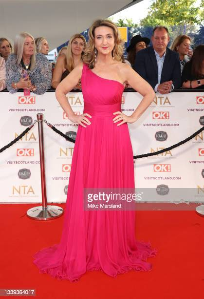 Victoria Derbyshire attends the National Television Awards 2021 at The O2 Arena on September 09, 2021 in London, England.