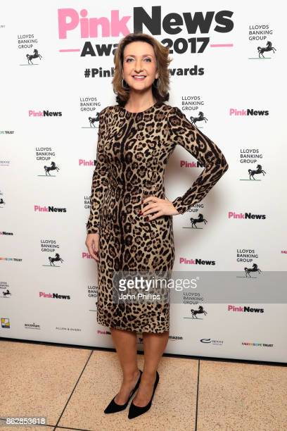 Victoria Derbyshire attends the Pink News Awards 2017 held at One Great George Street on October 18 2017 in London England