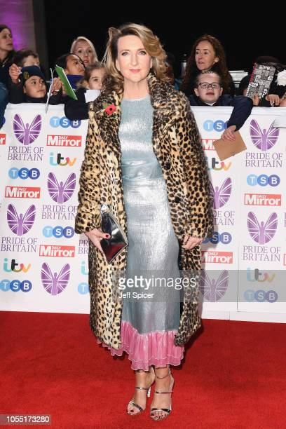 Victoria Derbyshire attends the Pride of Britain Awards 2018 at The Grosvenor House Hotel on October 29 2018 in London England