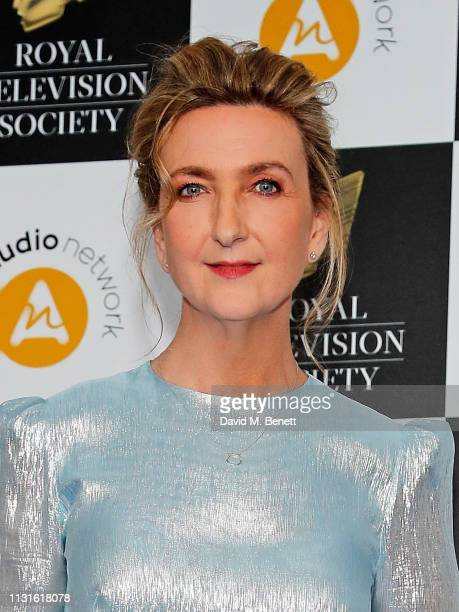 Victoria Derbyshire attends The Royal Television Society Programme Awards at The Grosvenor House Hotel on March 19 2019 in London England
